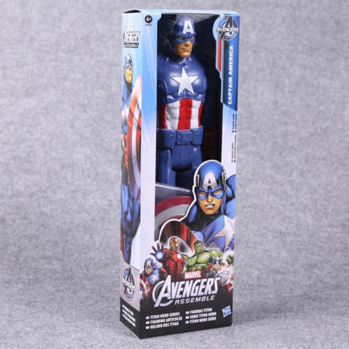 """12/"""" Marvel Movie Avengers Super Heroes Characters Action Figures Doll Kids Toy"""