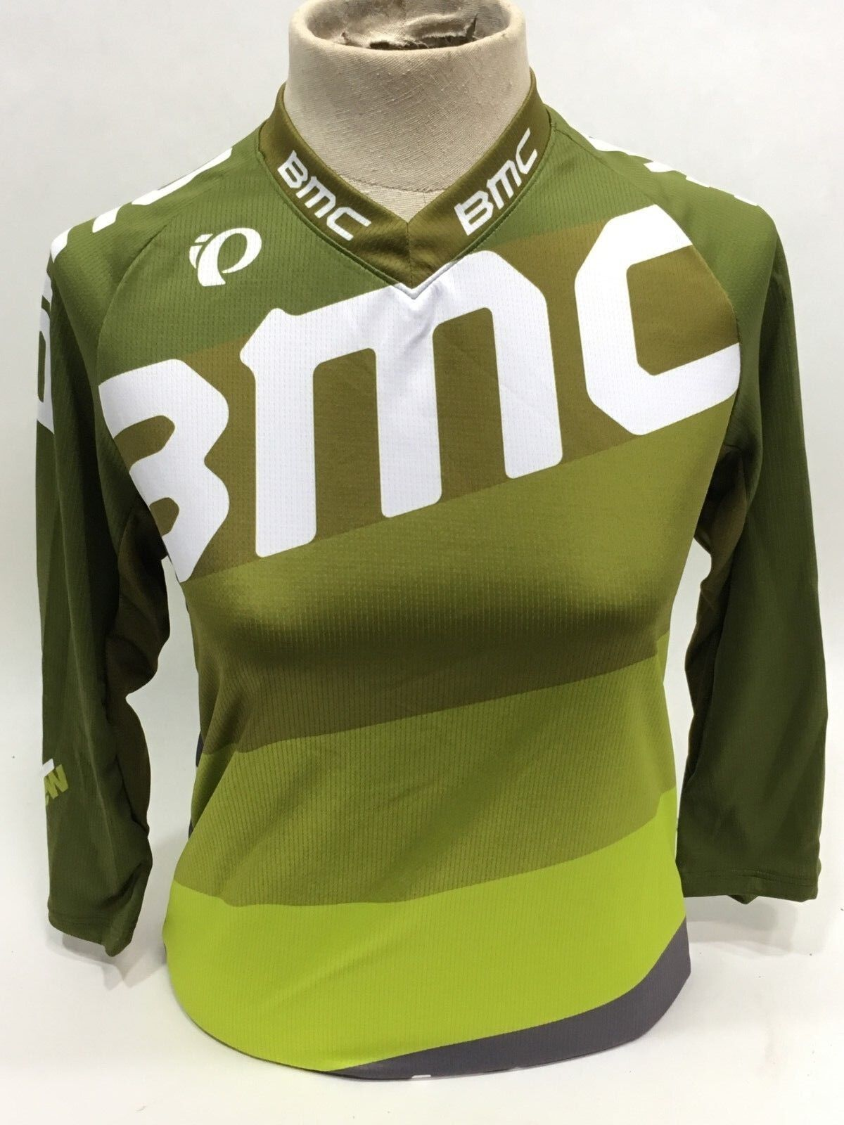 Pearl Izumi BMC Trailcrew Bicicleta de Montaña Jersey Holgado Lima para Dama -