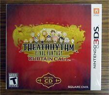 Theatrhythm Final Fantasy Curtain Call Nintendo 3DS Limited Edition W/ CD NEW