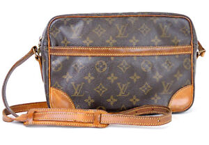 Louis Vuitton Made In France >> Authentic Louis Vuitton Monogram Trocadero 27 Shoulder Bag Made In