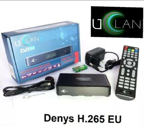 265 EU SAT Receiver Russische TV Uclan Denys H Internet TV
