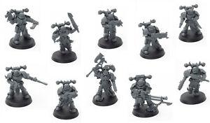 10x-Chaos-Space-Marines-Schattenspeer-Shadowspear-Warhammer-40k