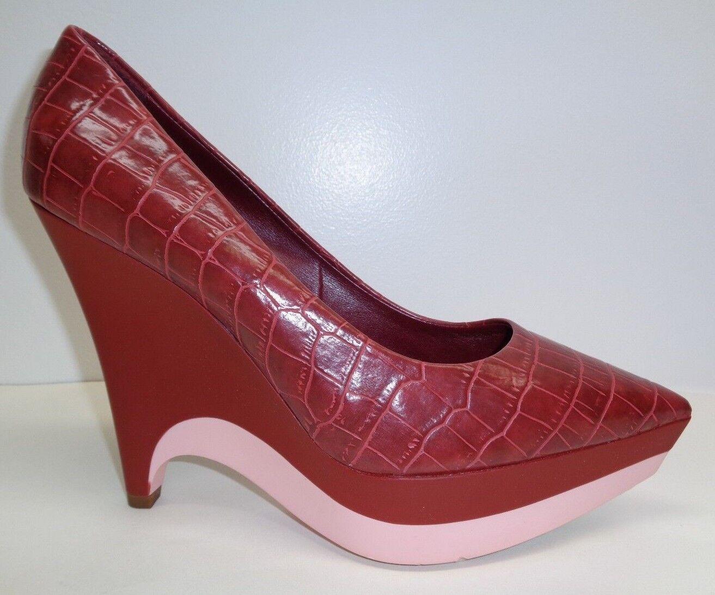 Stella McCartney Talla 9.5 9.5 9.5 EUR 39.5 Scarpa oscuro de cereza Tacones nuevo Zapatos para mujer  Con precio barato para obtener la mejor marca.