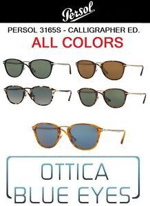 e685fa722e Image is loading Sunglasses-PERSOL-po3165s-Calligrapher-Edition -Sunglasses-sonnenbrillen