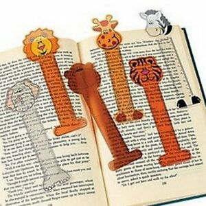 Zoo-Animal-Bookmarks-Book-Reading-School-Party-Bag-Fillers-Pack-Sizes-6-48