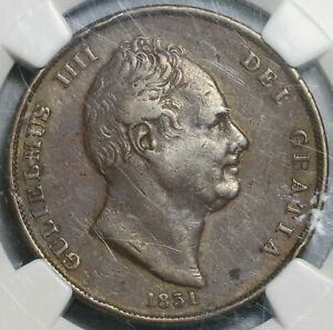 1831-NGC-VF-30-Penny-William-IV-Great-Britain-Coronation-Coin-20010701C