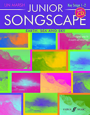 1 of 1 - Junior Songscape Earth Sea & Sky, Good, Lin Marsh, Book