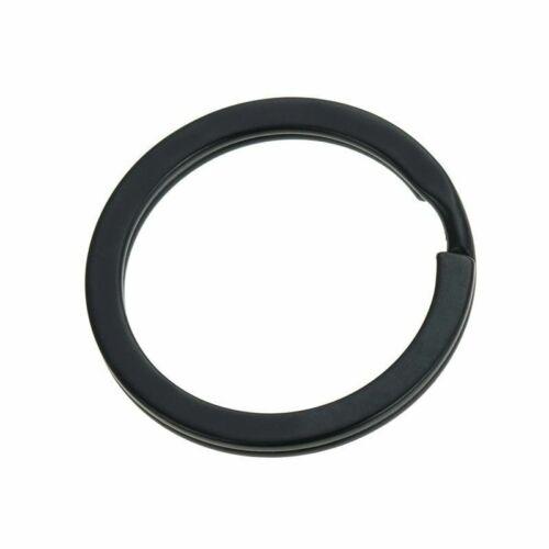 25mm 28mm 30mm Keyring Split Ring Key Ring For Keychain Diy Jewelry Making 10pcs