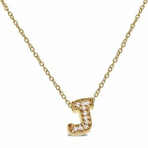 6014f6567b7ec8 Natural Diamond Accent Letter
