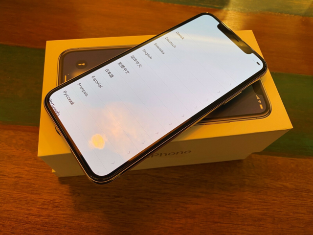 iPhone X, 64 GB, aluminium, Perfekt, NY iPhone X (ombyttet…