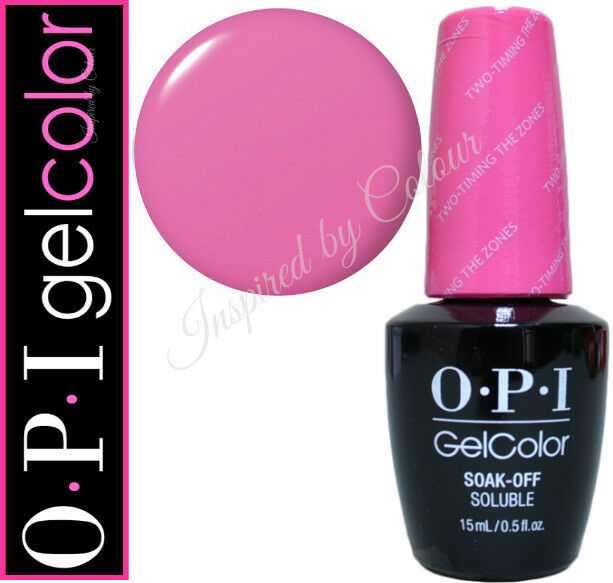 OPI Gelcolor Soak Off Gel ● TWO-TIMING THE ZONES from the FIJI Collection