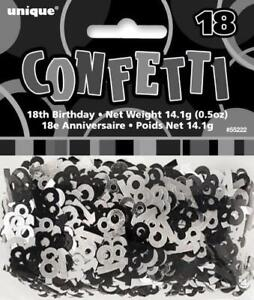 Image Is Loading 18th Birthday Party Decorations Glitz Black Silver Table