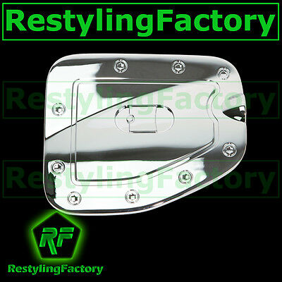 07-15 Toyota Tacoma w//Short bed only Triple Chrome Gas Door Trim Bezel Cover