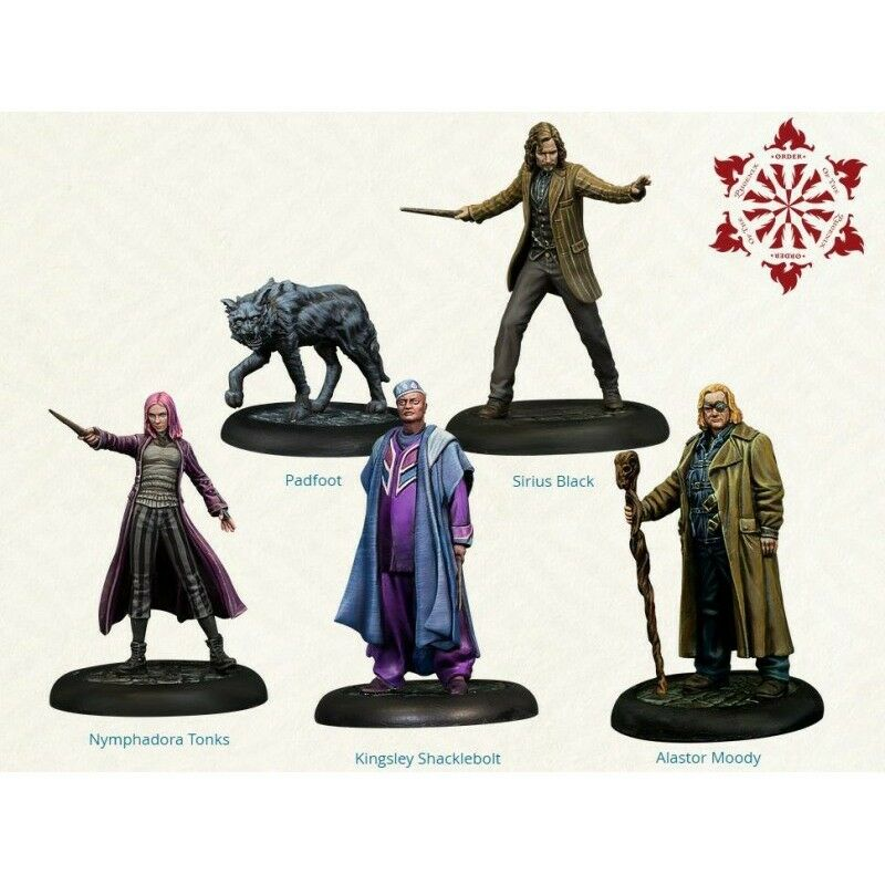 Harry Potter Miniatures Adventure Game   Order of the Phoenix - New