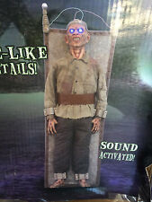 Spirit Halloween Life Size Animated Sound Frank N Cuted Electrocution Prop