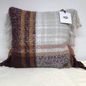 Remarkable Details About Ugg Australia Oversized Pillow Throw Sofa Bed 20 X 20 Long Beach Plaid Port New Creativecarmelina Interior Chair Design Creativecarmelinacom