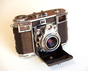 *c1953* ● Zeiss Ikon Contessa 35 (533/24) ● Rangefinder Meter Opton Tessar F2.8 Belle Apparence