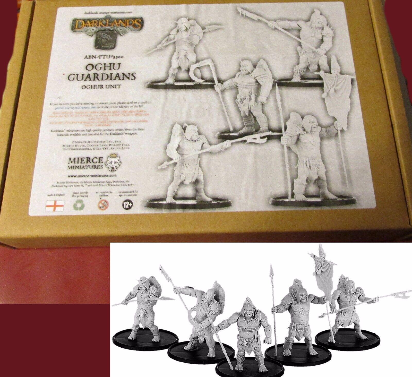 Darknles ABN-FTU-3300 Oghu Guardians Oghur Unit (5) Miniatures Ogre Warriors