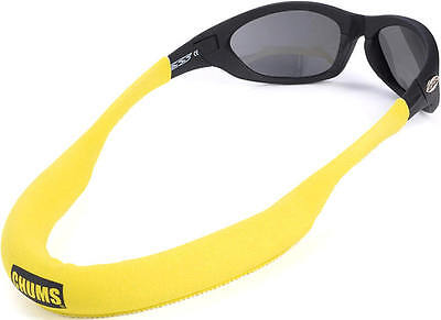 CHUMS MEGA FLOAT NEO retainer sunglasses glasses strap boating floating YELLOW M