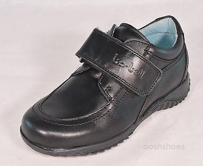 Bo-bell Boys Ocean Black Leather School Shoes UK 8 EU 26 US 8.5 RRP £47
