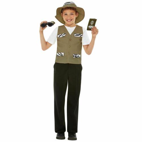 Kids Explorer Costume Kit Adventurer Book Day Fancy Dress Girls Boys