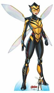 Wasp-Official-Lifesize-Marvel-Avengers-Cardboard-Cutout-with-Free-Mini