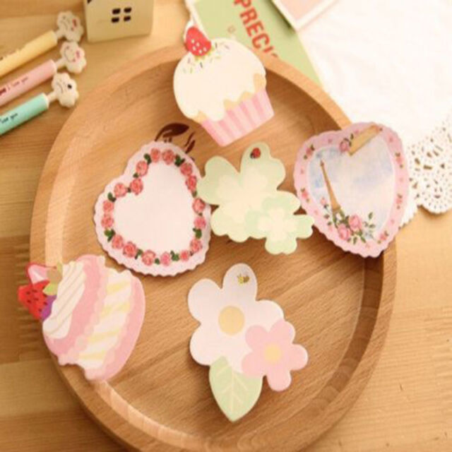 Cupcake Sticker Point Note Bookmark Mark Index Tab Memo Notepad Sticky Notes