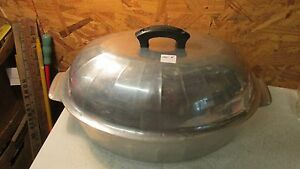 Household Institute Cast Aluminum Oval Roaster & Lid No. 8