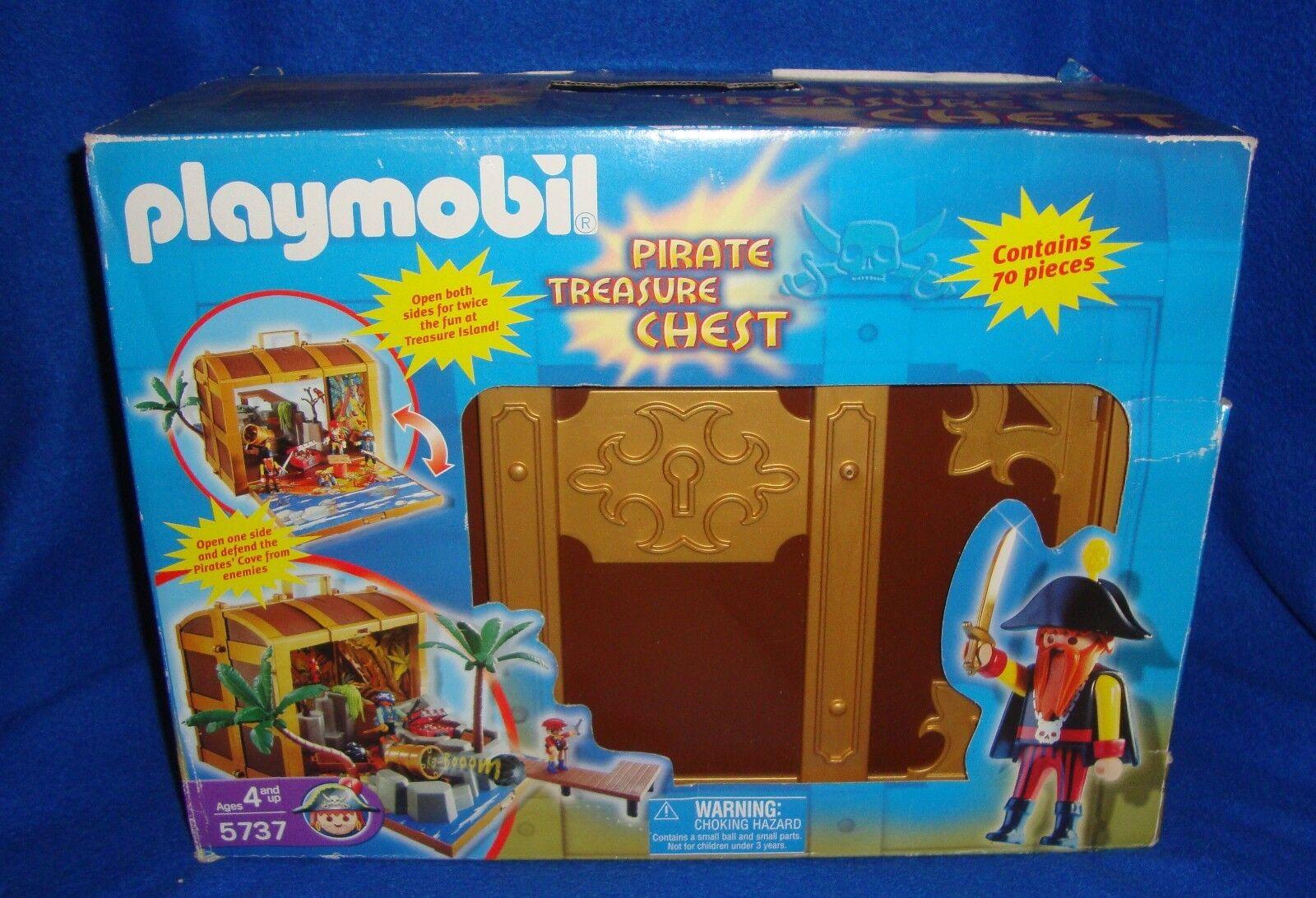 Playmobil Pirate Treasure Box 5737 MIB