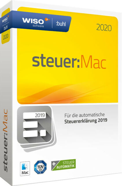 WISO steuer:Mac 2020 für die Steuererklärung 2019 - CD und Handbuch