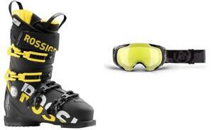 Rossignol-AllSpeed-Pro-110-ski-boots-27-5-incl-GOGGLES-at-BIN-price-NEW-2019