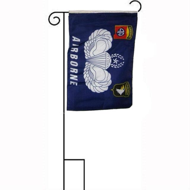 """Navy Crest Symbol Sleeved w// Garden Stand Flag 12x18 12/""""x18/"""" U.S"""
