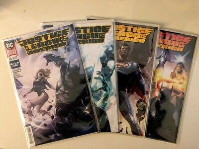 29 B Variants Mattina Covers  DC 2018 NM+ 28 Justice League of America JLA  26