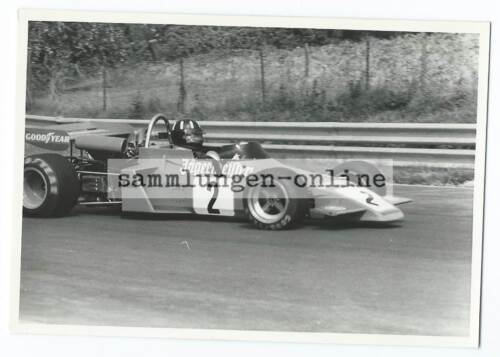 Formule 1 60/70er Ans Racing Voiture de Course Motorsport Photo Photographe -44