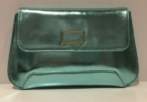 Bag Clutch London Rrp Jezebel Turquoise Metallic £125 Leather Osprey gwHzzq