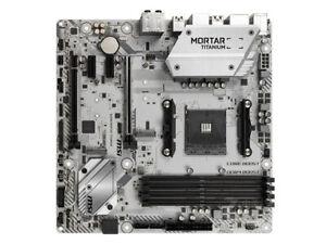 MSI-B450M-MORTAR-TITANIUM-Motherboard-Socket-AM4-DDR4-USB3-1-AMD-B450-Micro-ATX