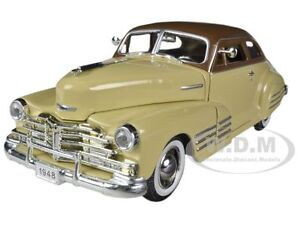 1948-CHEVROLET-AEROSEDAN-FLEETLINE-BEIGE-1-32-MODEL-CAR-SIGNATURE-MODELS-32437