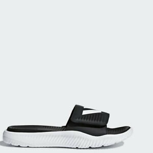 Image is loading Adidas-BA8775-Men-Swim-Alphabounce-BB-Slippers-Synthetic- 1b1810a2c