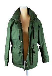 Hennes-amp-Mauritz-HM-Hunter-Green-Cotton-Cargo-Explorer-Jacket-Women-s14