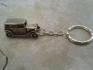 Schlüsselanhänger Hand zu Hand aus Edelstahl Geschenk selten