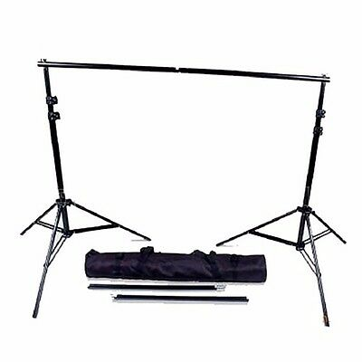 12ft Heavy Duty Backdrop Support System Muslin Background Stand Set Cross Bars