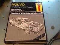 Haynes Manual Volvo 740 & 760 (Petrol) 1982 - 1986  2316cc - 2849cc