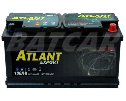 Starterbatterie 12V 100Ah 770A//EN ATLANT TOP QUALITÄT