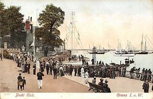POSTCARD-ISLE-OF-WIGHT-COWES-Yacht-Club