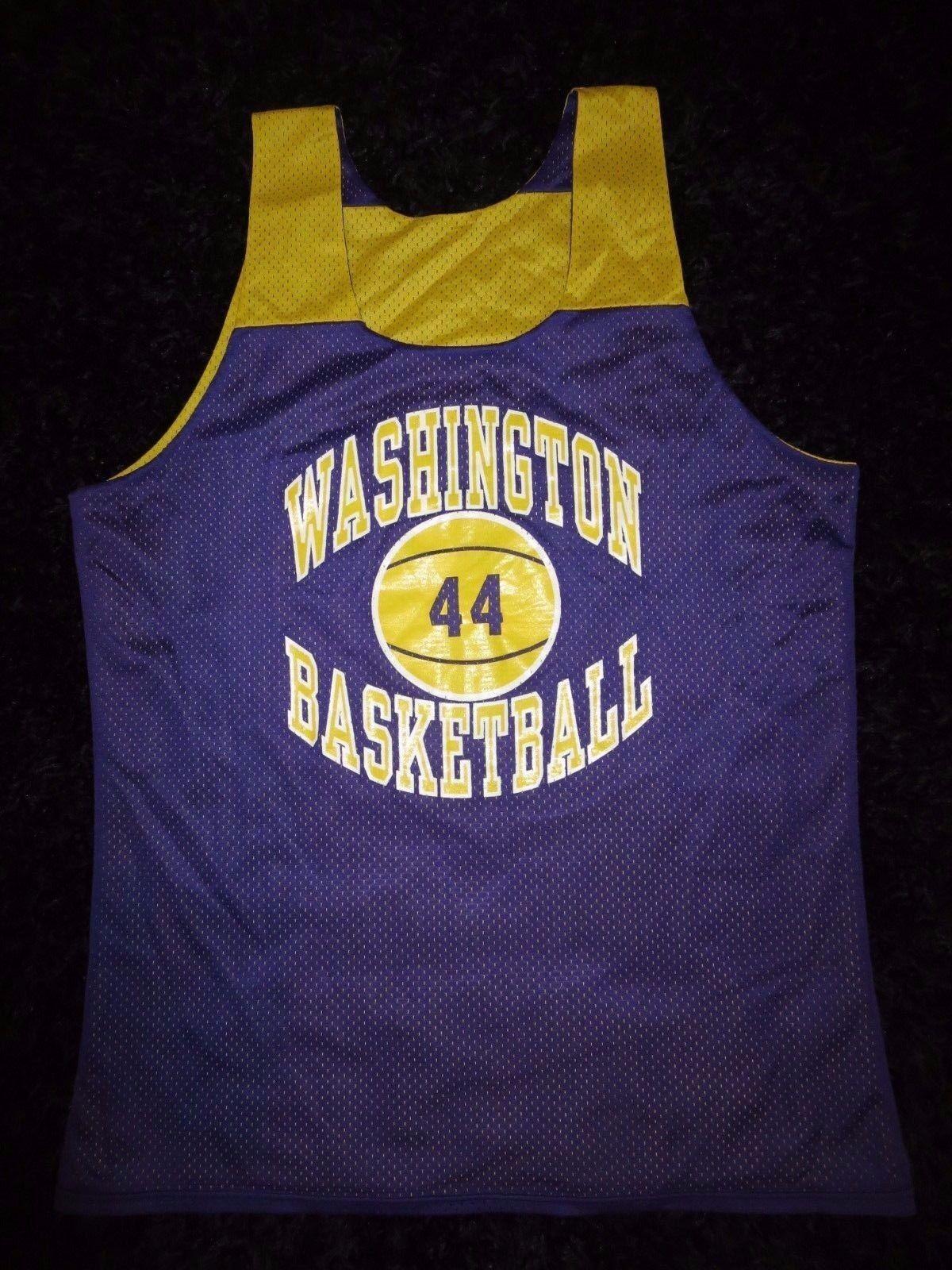 Washington Huskies  44 Pallacanestro Squadra Pratica Maglia