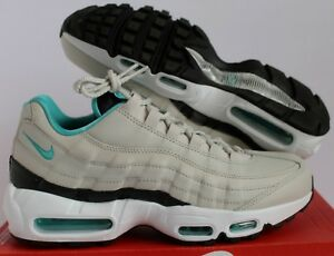 Details about NIKE AIR MAX 95 ESSENTIAL LIGHT BONE SPORT TURQUOISE BLACK SZ 8.5 [749766 027]