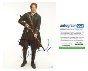 Sam-Heughan-034-Outlander-034-AUTOGRAPH-Signed-8x10-Photo-I-ACOA-Witness-ITP