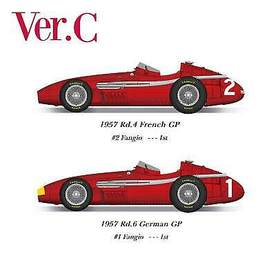1 20 Maquette en Kit Maserati 250F 1957 GP french german model factory hiro  K71