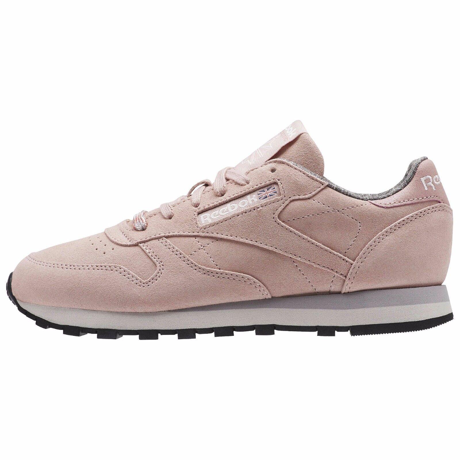 Reebok Para mujeres Cuero Cuero Cuero Clásico W&w (resistido & Lavado) Zapatos rosado BS7865 B  opciones a bajo precio