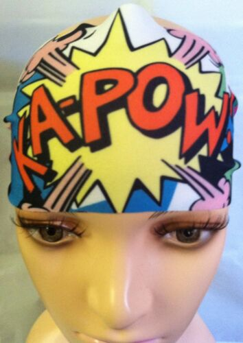 Cartoon Graffiti Wide Headband NWT
